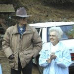 Bill and Lila Adams at the pack station in 2003